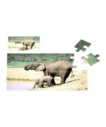One Step Ahead Elephant Puzzle
