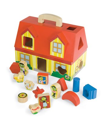 PBS Kids Take-Along Shape Sorter Set