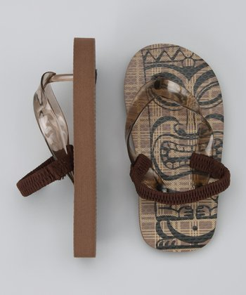 Brown Zori Sandal