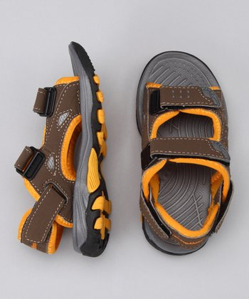 Brown Land & Sea Sandal