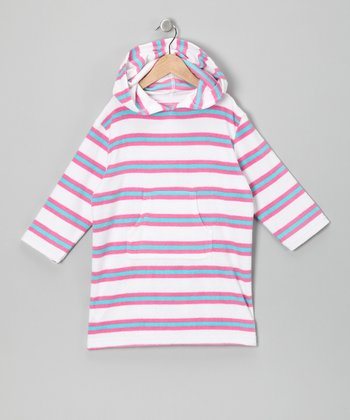 Pink Stripe Cover-Up - Infant