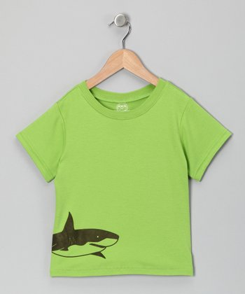 Green Shark Tee - Infant & Toddler