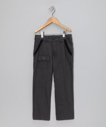 Taupe William Pants - Toddler & Boys