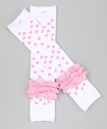 Pink Sweetheart Leg Warmers