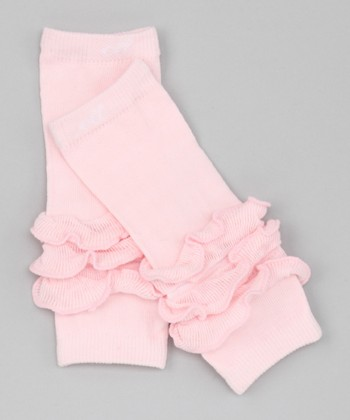 Pink Fairy Dust Itty-Bitty Leg Warmers