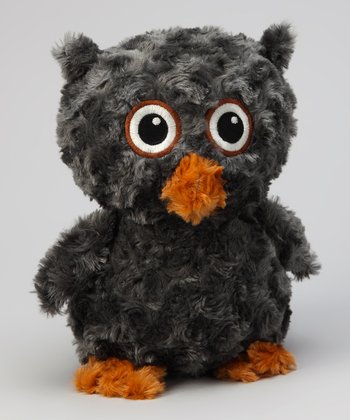 Oomfy Gray Kingston the Owl Plush Toy