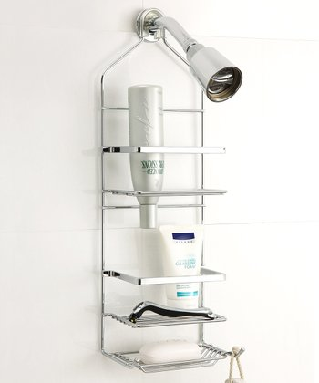 Chrome Square Shower Caddy