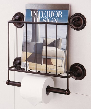 Bronze Estate Magazine Rack