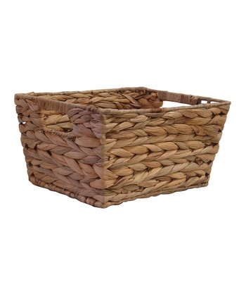 Water Hyacinth Small Tapered Bin