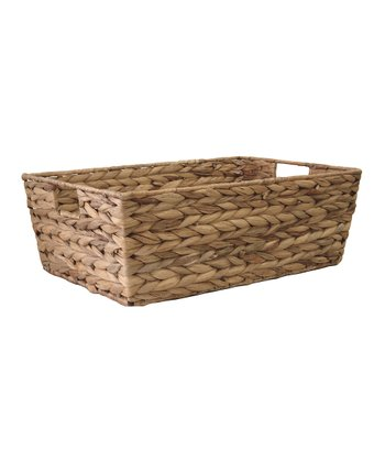 Water Hyacinth Large Tapered Bin
