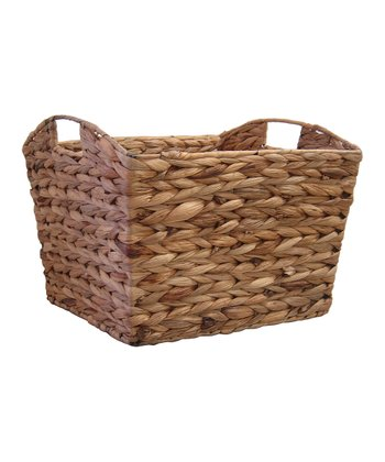 Water Hyacinth Tapered Basket