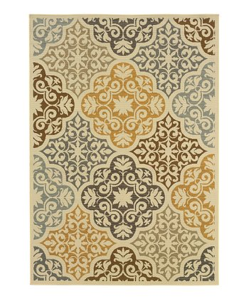 Ivory Elegance Fiji Indoor/Outdoor Rug
