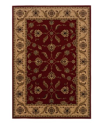 Rust Red London Rug