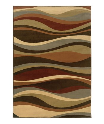 Brown Waves Cynthia Rug