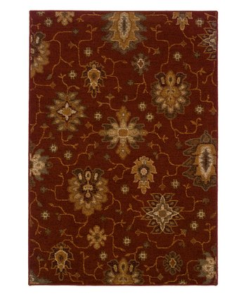 Red Jefferson Rug