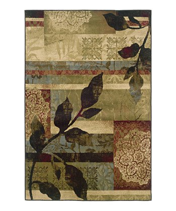 Ivory Leaves & Lace Newport Rug