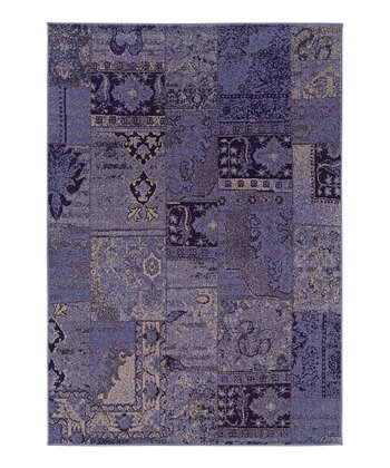 Purple Patchwork Renaissance Rug