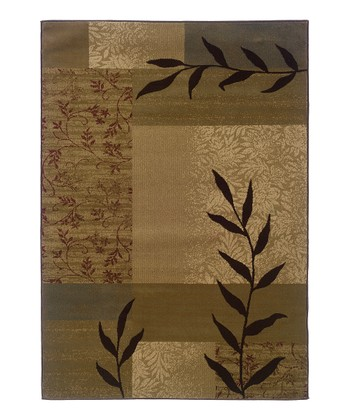 Gold Fern Tyree Rug