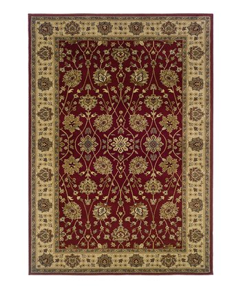 Red Antique Tyree Rug