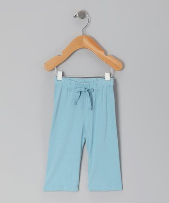 Blue Organic Yoga Pants - Infant