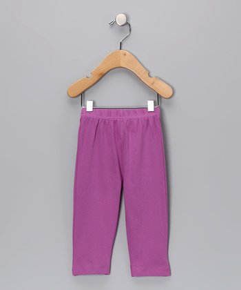 Berry Organic Yoga Pants - Infant
