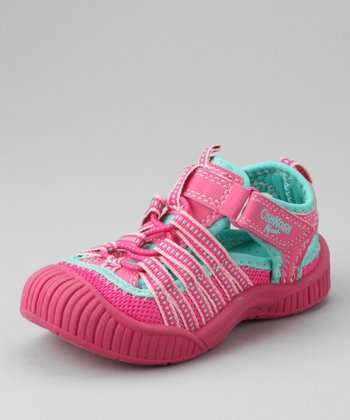 OshKosh B'gosh Fuchsia Adventure Closed-Toe Sandal