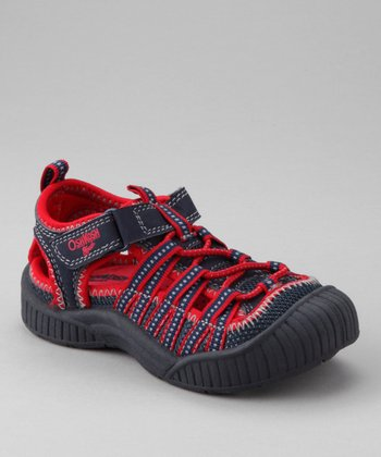 OshKosh B'gosh Navy Adventure Closed-Toe Sandal