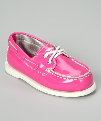 Pink Alex Boat Shoe