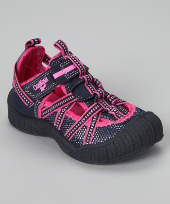 Navy & Pink Boost Shoe