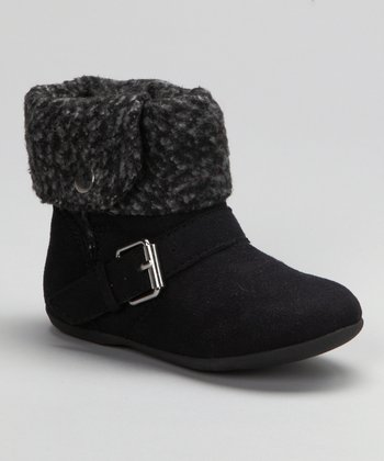 Black Frosting Ankle Boot