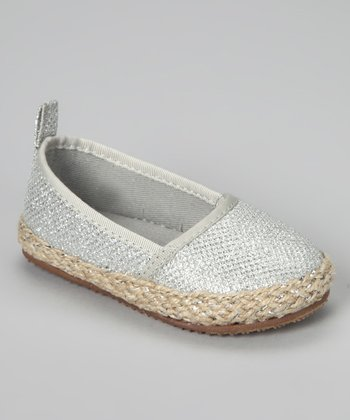 Silver Salt Slip-On Shoe