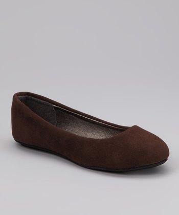Ositos Brown Ballet Flat