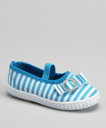 Blue Stripe Flat