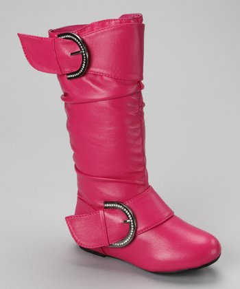 Fuchsia Destiny Boot
