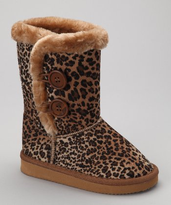 Leopard Frida Boot