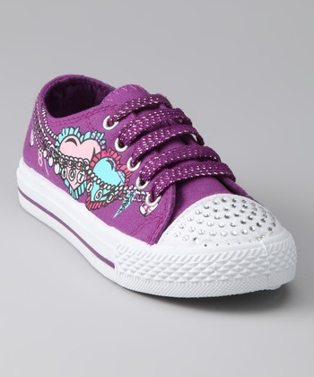 Purple Heart Sneaker