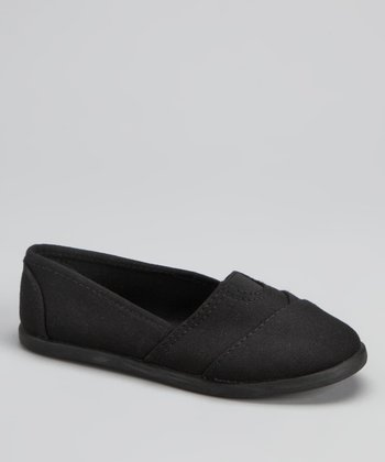 Black Tammy Slip-On Shoe