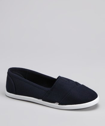 Navy Tammy Slip-On Shoe