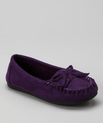 Purple Tasha-2 Moccasin