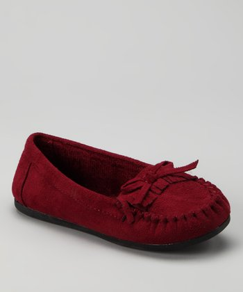 Red Tasha-2 Moccasin