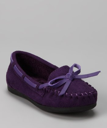 Purple Tasha Moccasin