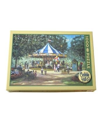 Children's Carousel 1000-Piece Puzzle