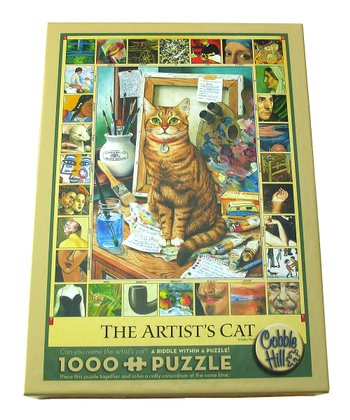 The Artist's Cat 1000-Piece Puzzle
