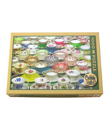 Tea Cups 1000-Piece Puzzle