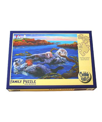 Sea Otter Family 400-Piece Puzzle