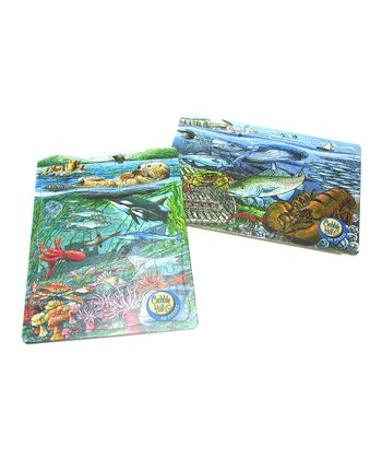 Pacific Ocean & Atlantic Ocean Tray Puzzle