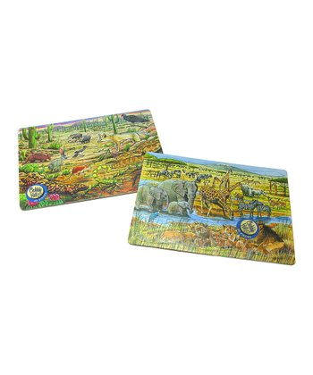 Out of Africa & Life in the Desert Tray Puzzle