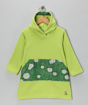 Citron Daisy Fleece Tunic - Infant & Girls