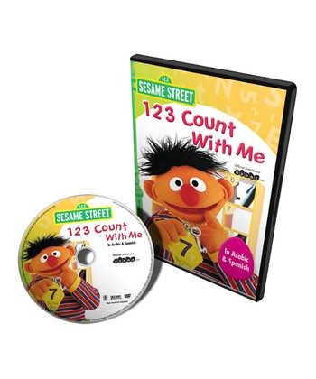 Arabic & Spanish 123 Count with Me DVD