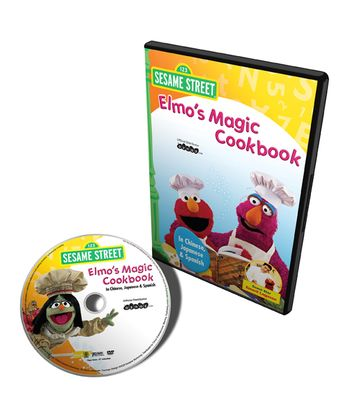 Chinese, Japanese & Spanish Elmo's Magic Cookbook DVD